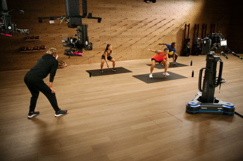 A Look Inside Apple's 23,000 Square-Foot Fitness+ Studio
