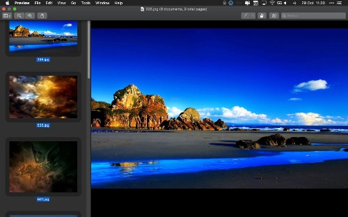 How to Batch Convert Images Using macOS Preview