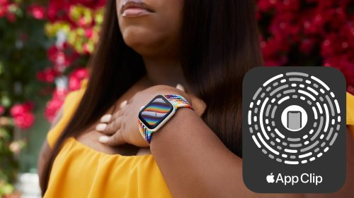 Apple's New Pride Bands Include App Clip on Packaging for Quick Access to Matching Watch Face