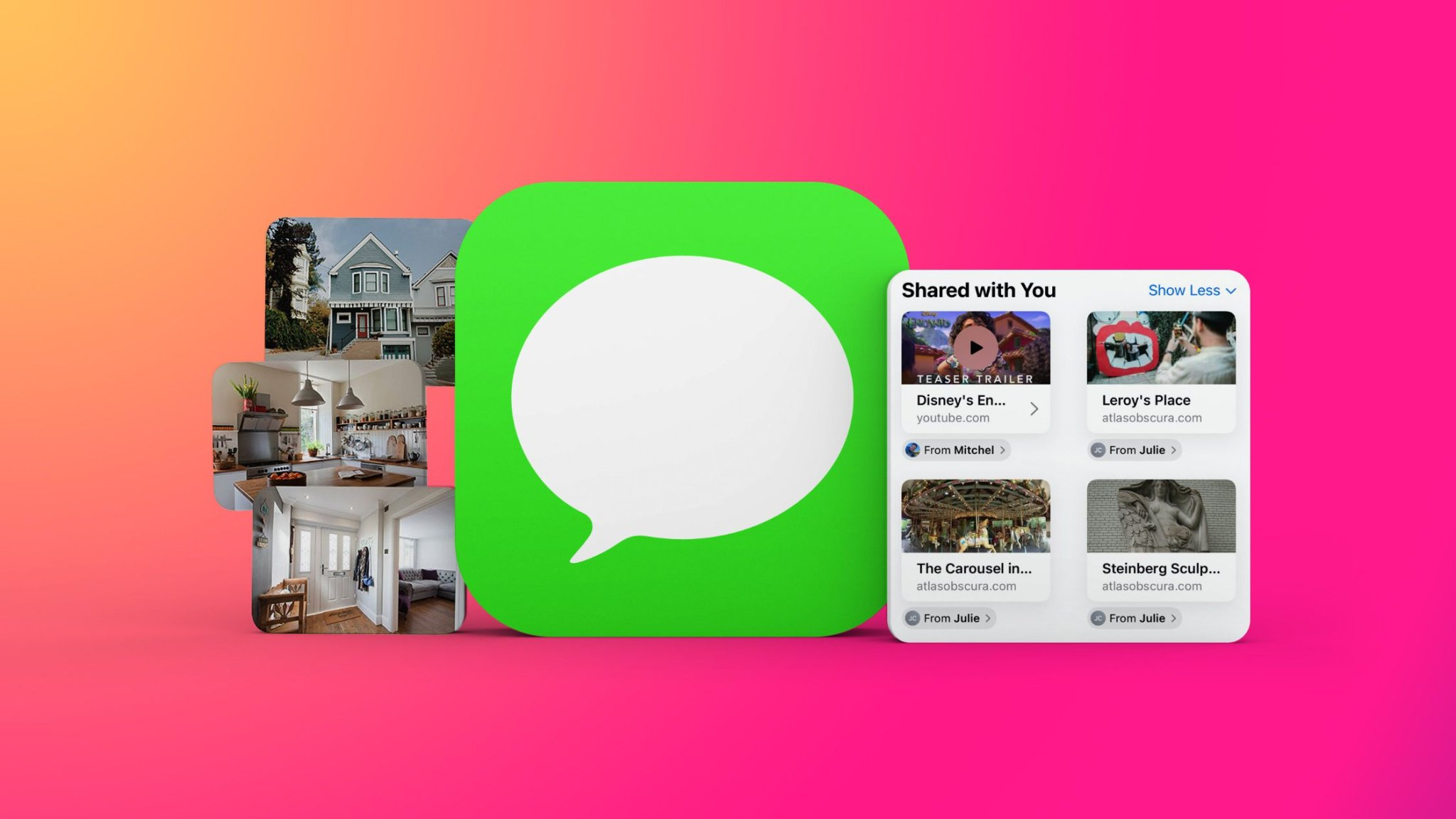 Everything New in the iOS 15 Messages App: Shared With You, Photo Collages, Memoji Updates and More