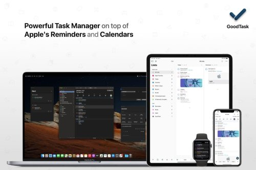 GoodTask: Get It Done With the Task Manager Based on Apple's Reminders and Calendars [Sponsor]