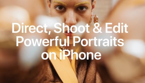 New 'Today at Apple' Session Shows How to Shoot 'Powerful' Portrait Photos on iPhone