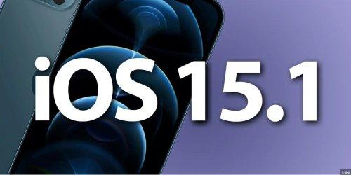 iOS 15.1 erscheint am nächsten Montag, den 25.10