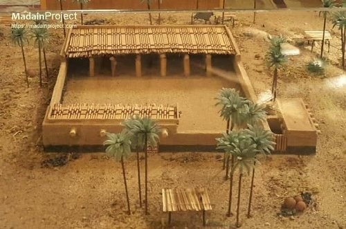 Masjid an-Nabawi at the time of Prophet Muhammad  - Madain Project (en)