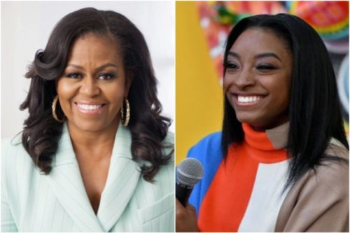 Michelle Obama Offers Encouragement To Simone Biles After Olympic Exit