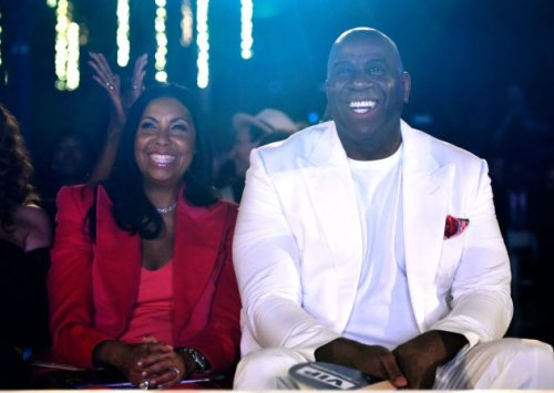 Cookie And Magic Johnson Celebrate Their 30th Wedding Anniversary