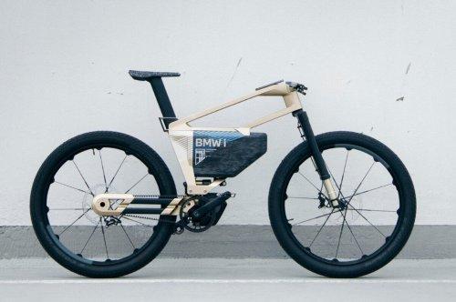 60 km/h schnell: BMW präsentiert E-Bike