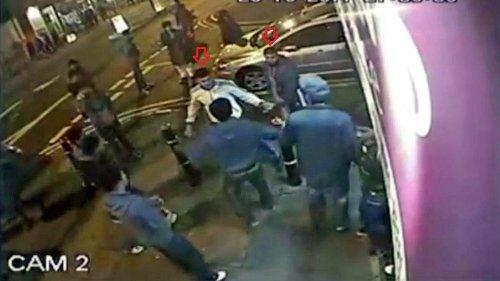 6 Proleten attackieren 2 Boxer auf Straße - ein großer Fehler