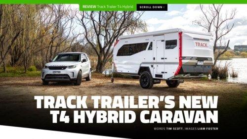 Track Trailer's new T4 hybrid caravan - RV Daily - Issue 042