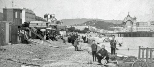 Quand la mer se retire, Nice 1886