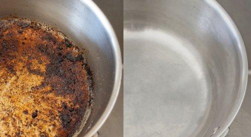 Comment nettoyer le fond d'une casserole ou d'une poêle brûlé ?