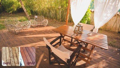 L'huile de teck synthétique, idéale pour embellir les bois exotiques - Maison & Travaux