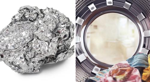 Pourquoi est-il utile de mettre une boule de papier d'aluminium dans le lave-linge ?