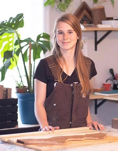 Interview with Nicole Band, Woodworker & Artist