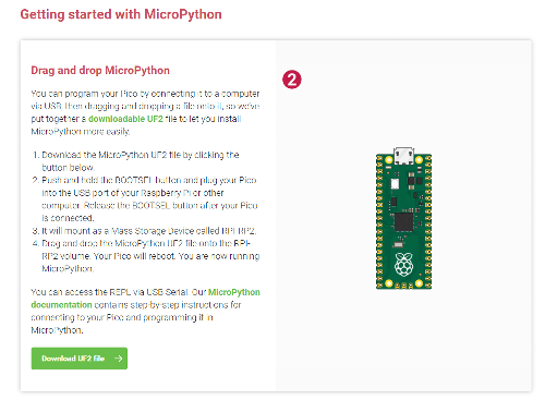 Getting Started With MicroPython on the Raspberry Pi Pico