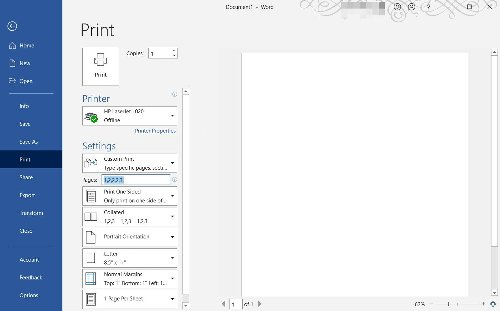 How to Get Better Prints in Microsoft Word
