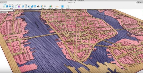 How To Make Laser Cut Maps Of Your City | Make: