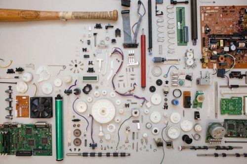 Computer Printer Salvage | Make: