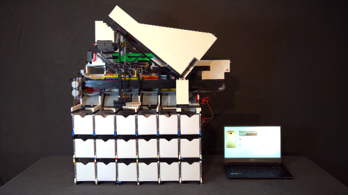 10,000 Bricks And An AI Comprise This Ultimate Lego Sorting Machine | Make: