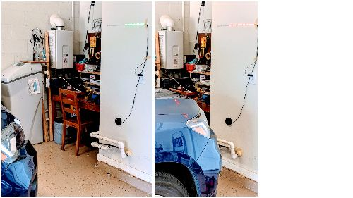 Arduino Powered Garage Parking Sensor | Make: