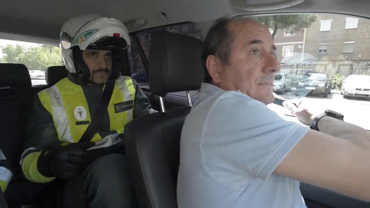 El divertido vídeo de la Guardia Civil para que nos pongamos el cinturón en el coche