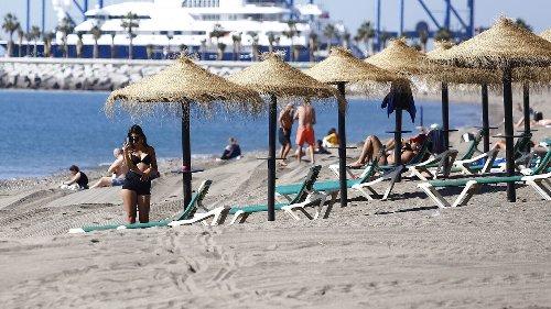 El tiempo en Málaga: El terral dispara las temperaturas hasta los 27 grados antes de que vuelvan las lluvias