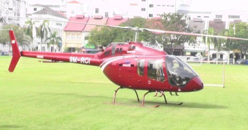 Perak police say only allowed helicopter to cross state lines for maintenance, not 'nasi ganja' run