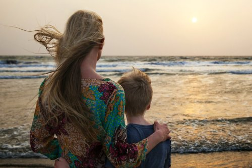 The conversation with a stranger that completely shifted my perspective on parenting.
