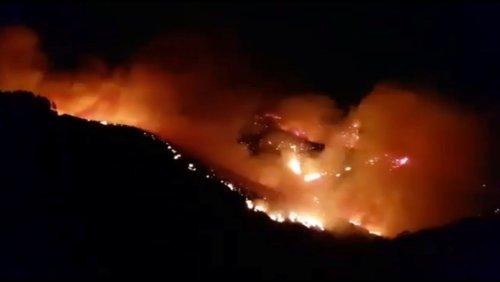 Kanarische Inseln: Auf Gran Canaria dauert Waldbrand an