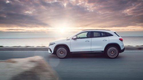 Mercedes EQA vorgestellt Mit diesem Elektro-SUV zieht Mercedes gegen Teslas Model Y ins Feld