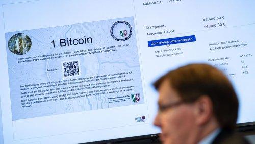 Bundesweit erste Auktion Justiz versteigert 215 Bitcoin aus Drogenhandel