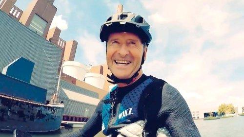 Video-Urlaubsstunt des VW-Chefs Herbert Diess – der Mann, der über dem Mittellandkanal schwebt