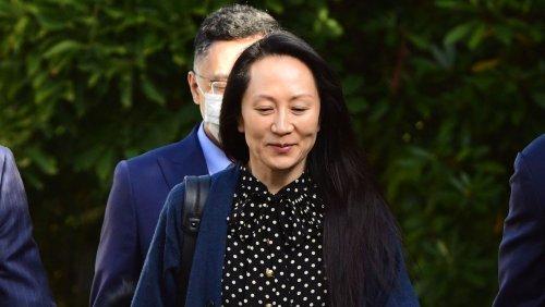 Huawei-Finanzchefin Meng Wanzhou frei Kanada und China tauschen Wirtschaftsgefangene aus