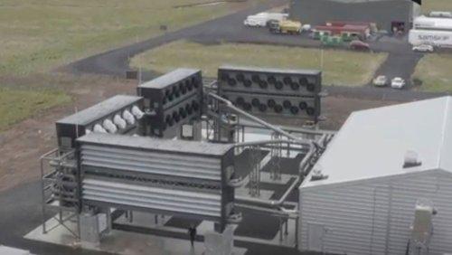 Klimawandel Island eröffnet die größte CO2-Filteranlage der Welt
