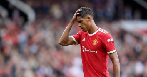 Raphael Varane isn't getting what he needs at Manchester United