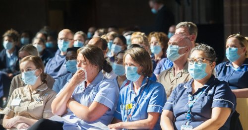 Faces of Manchester's frontline fight against Covid-19 unmasked