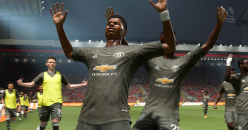We simulated Liverpool vs Manchester United to get a score prediction