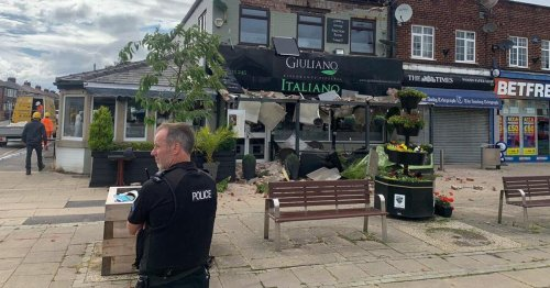 Handforth Italian restaurant closed after part of building collapses