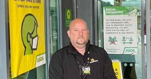 Kind-hearted Asda security guard goes viral after helping distressed boy