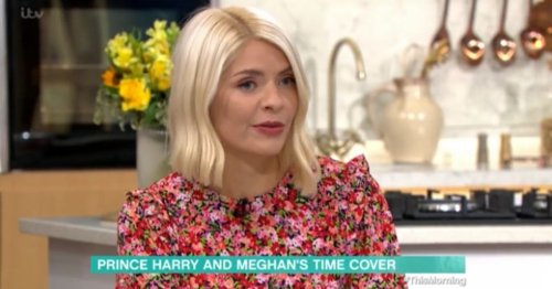 Holly Willoughby defends Harry and Meghan's latest photoshoot