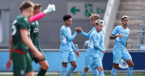 Man City might have found their new Leroy Sane with academy talent