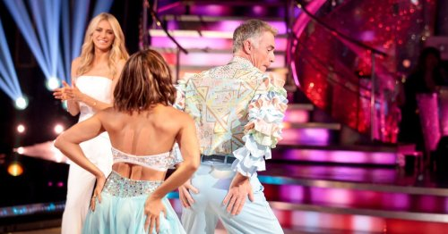 Strictly fans cry 'sabotage' as Greg Wise is booted off