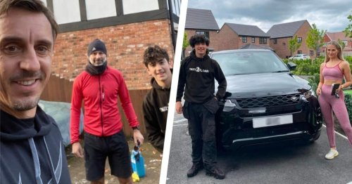 Boy, 15, whose clients include Gary Neville Molly-Mae Hague and Tommy Fury