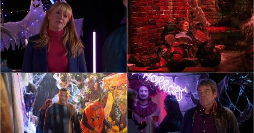 Corrie's possible victims as a Halloween disaster strikes Weatherfield next week