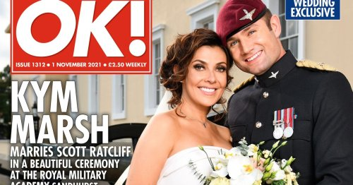 Kym Marsh looks sensational in first official photo from her wedding day