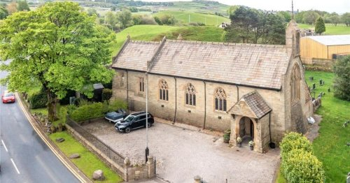 'Beautiful' Lancashire church conversion goes on sale for £550k