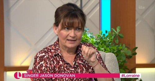 Lorraine Kelly swears live on air as ITV viewers left taken aback
