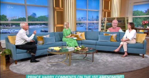 Phillip Schofield snaps at This Morning guest over Prince Harry remark
