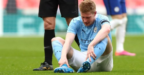 Guardiola gives De Bruyne injury update ahead of Tottenham and PSG fixtures
