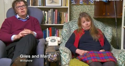 Gogglebox fans lose it over Mary and Giles change